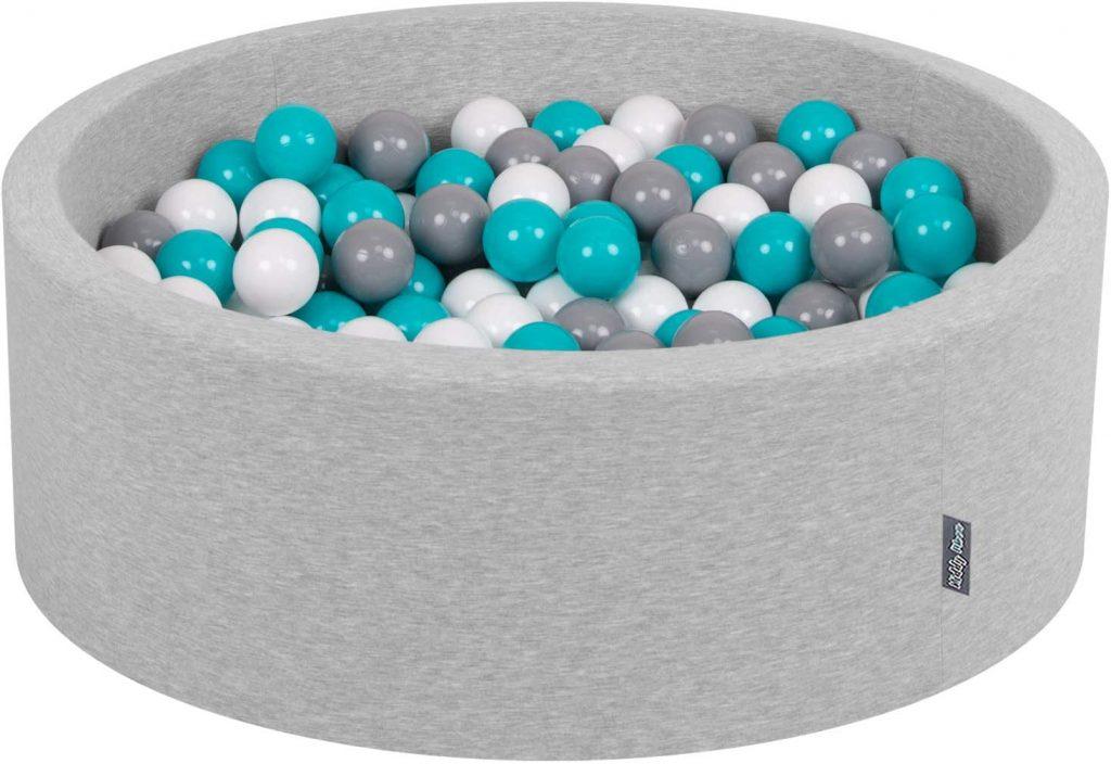 La piscine à balles ronde Kiddymoon est exempt de matériaux toxiques.
