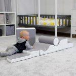 Le parcours de motricité bébé IGLOO est un jeu éducatif.