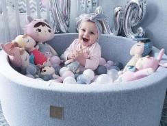 Piscine à balles pour bébé Meowbaby : nos coups de ❤️